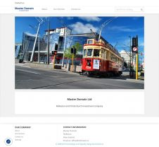 Rolleston and Christchurch investment company - website created in web-studio webPCstudio