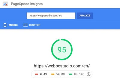 Fastest website
